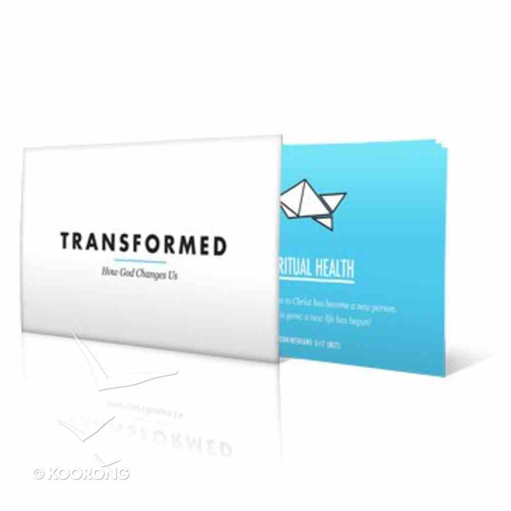 Scripture Notecards (Pack of 8) (Transformed Campaign Series) Cards