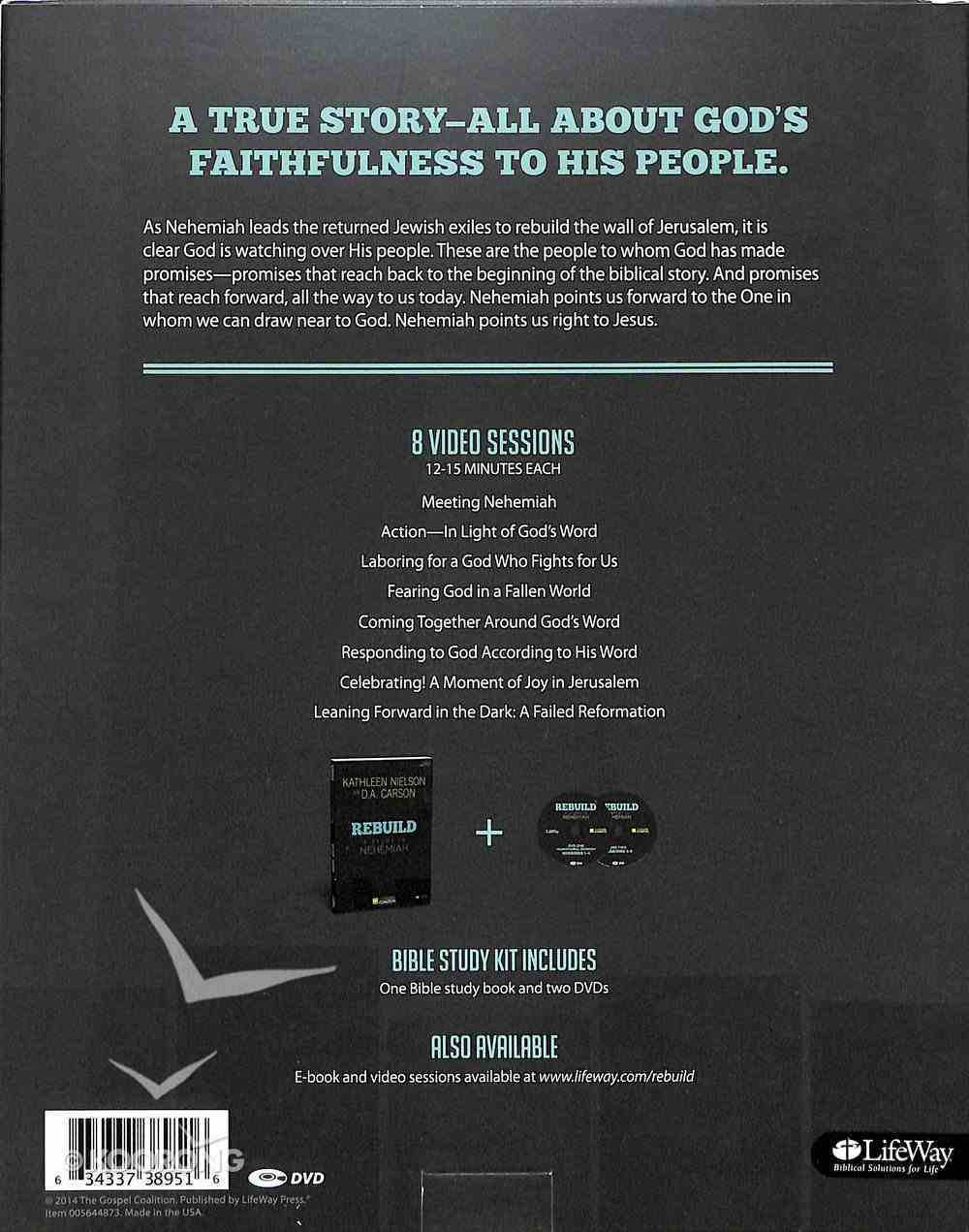 Rebuild: A Study in Nehemiah (Leader Kit) Pack