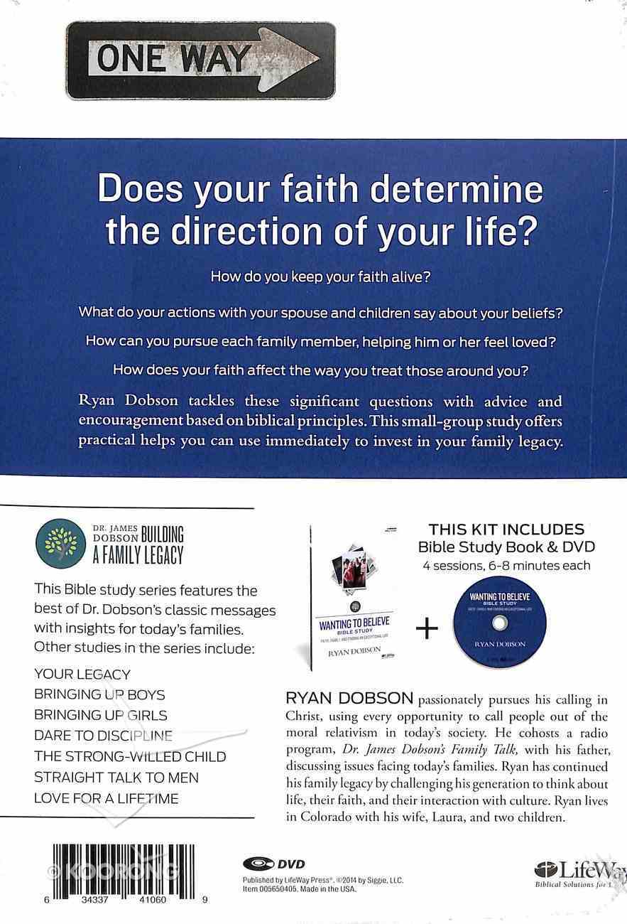 Wanting to Believe Bible Study (Leader Kit) Pack