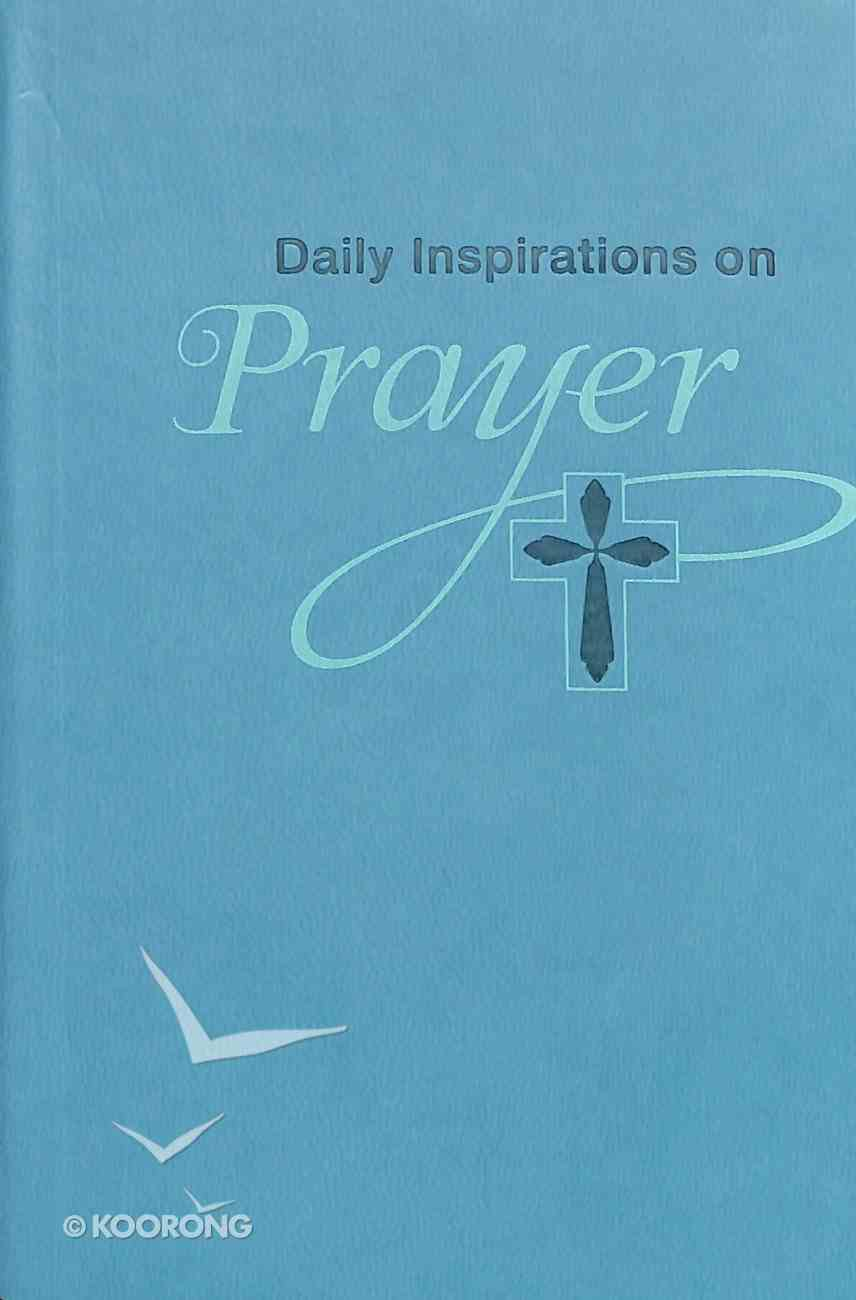 Prayer (Green Luxleather) (Daily Inspirations Series) Imitation Leather