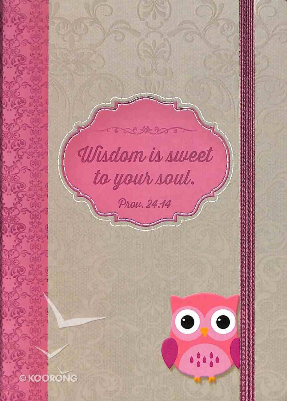 Journal: Owl: Wisdom For the Soul Medium Hardback