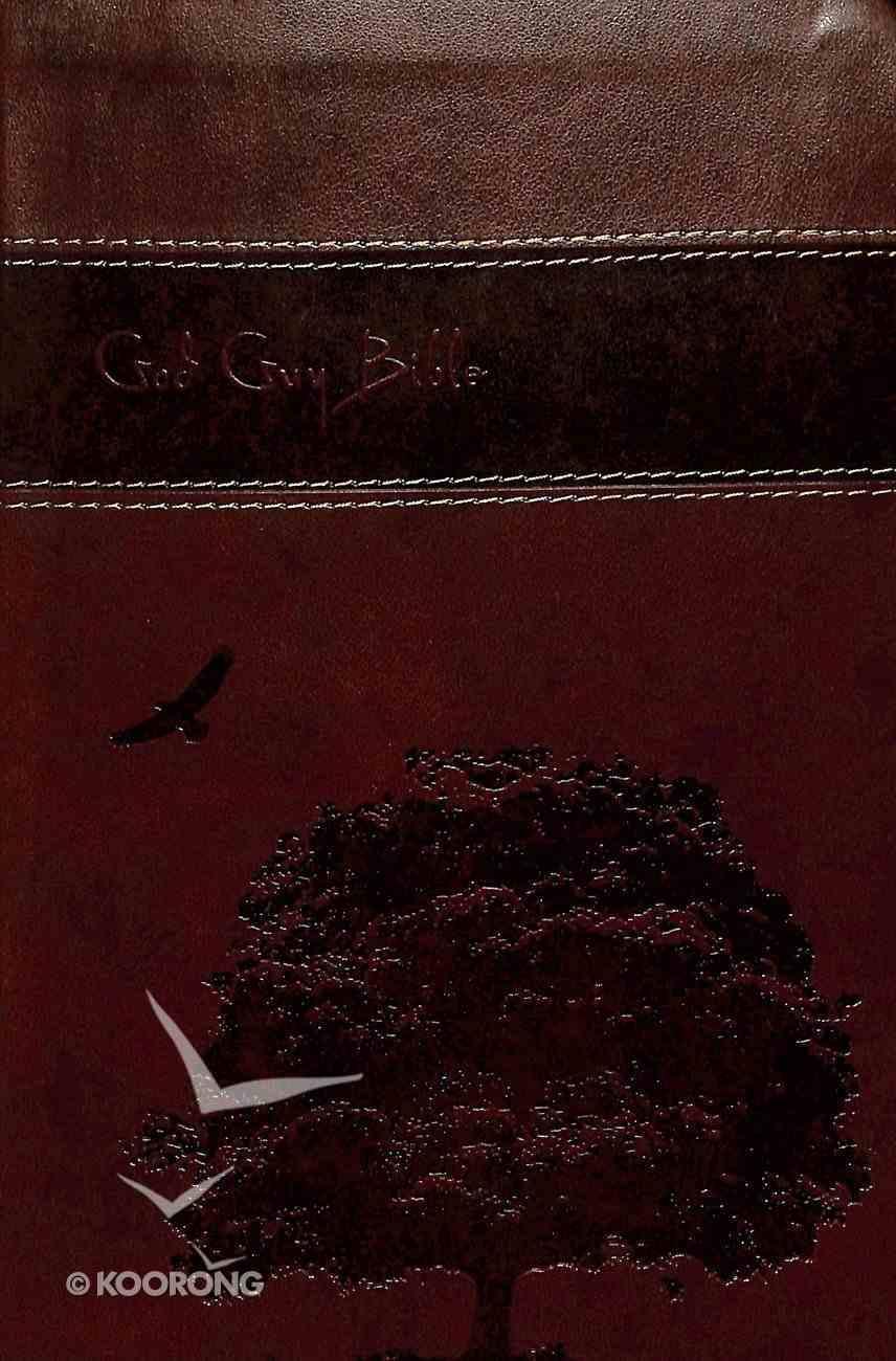 ESV God Guy Bible Brown Trutone Imitation Leather