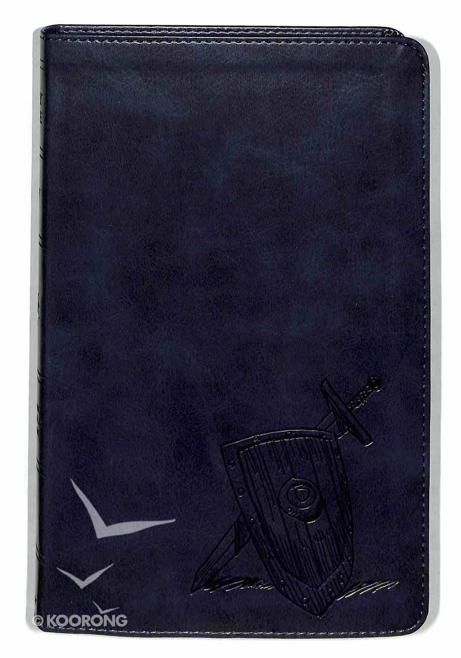 ESV Kid's Thinline Bible Trutone Slate Armor Imitation Leather