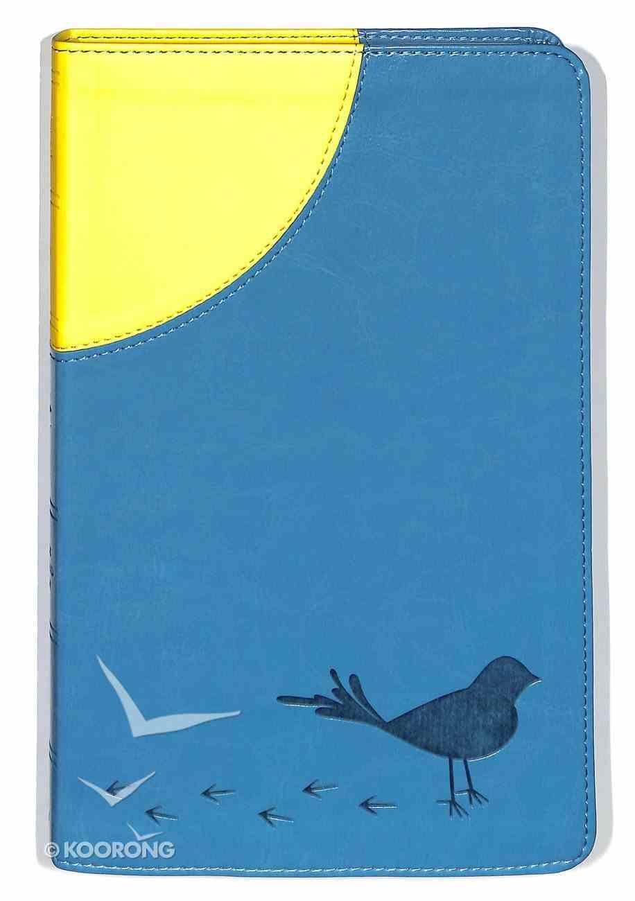 ESV Kid's Thinline Bible Trutone Sunrise Sparrow Imitation Leather