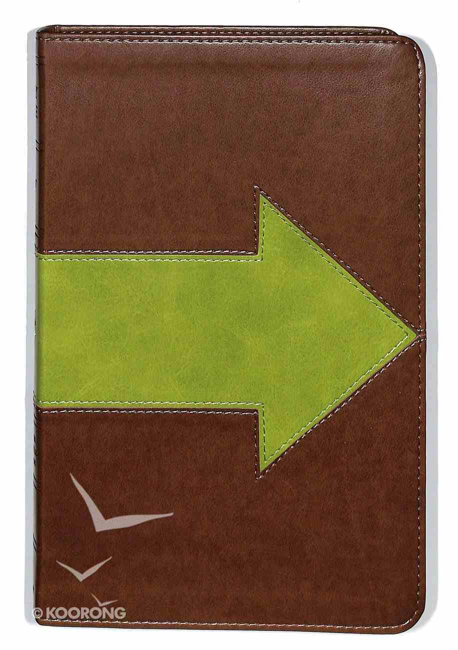 ESV Kid's Thinline Bible Trutone Forest Arrow Imitation Leather