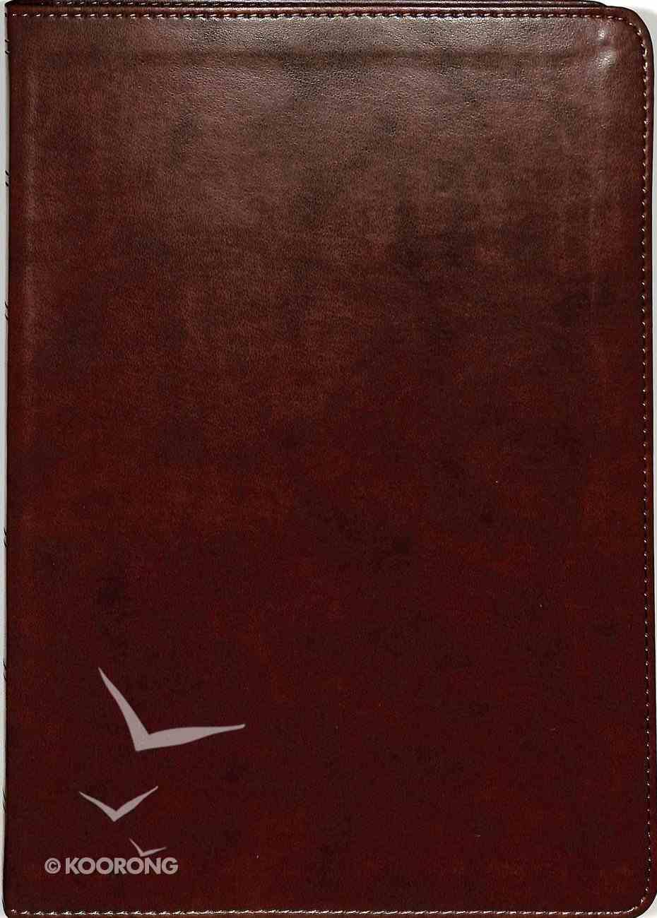 ESV Wide Margin Reference Bible Brown (Red Letter Edition) Imitation Leather