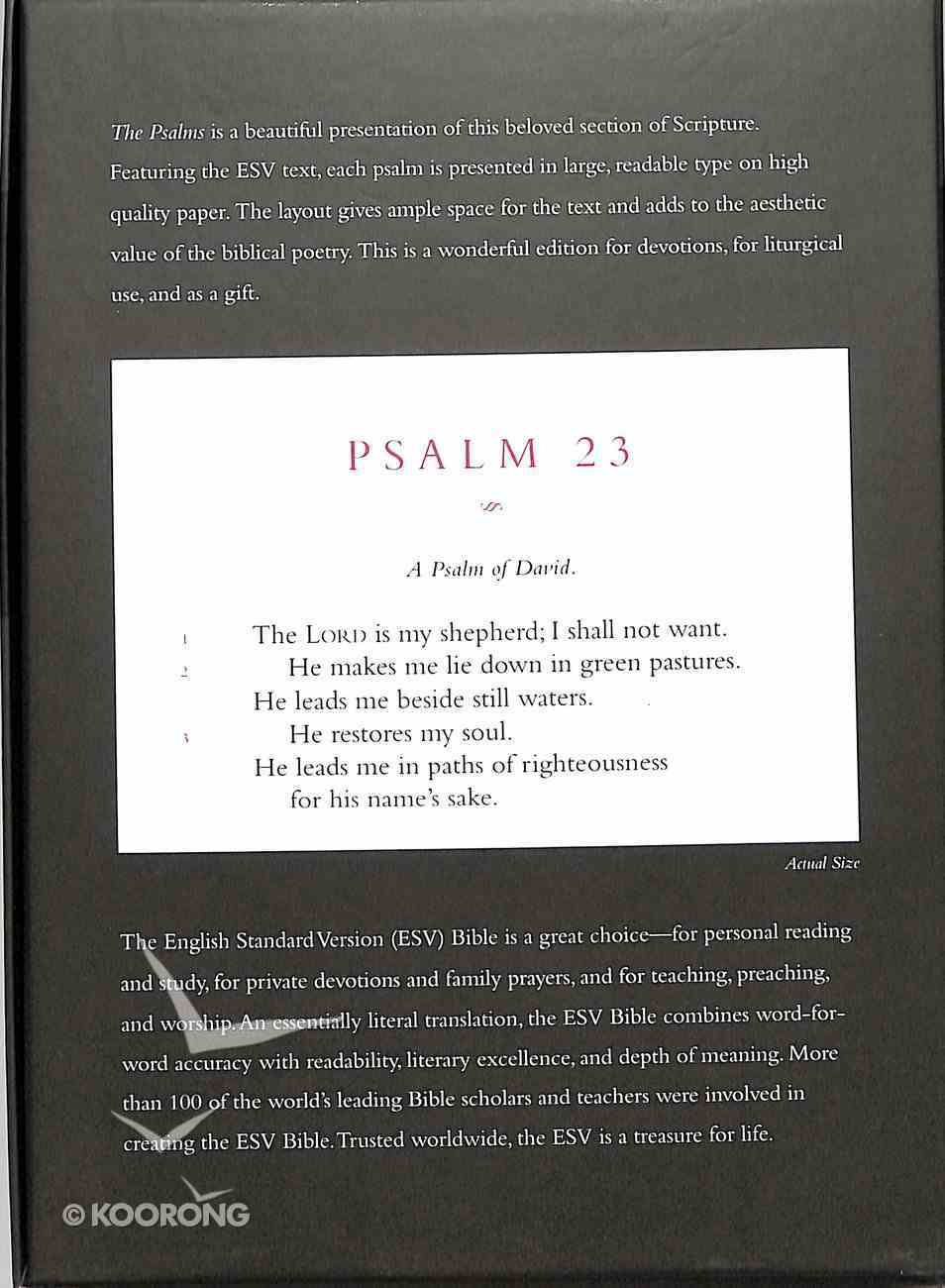 ESV Psalms Brown Premium Imitation Leather
