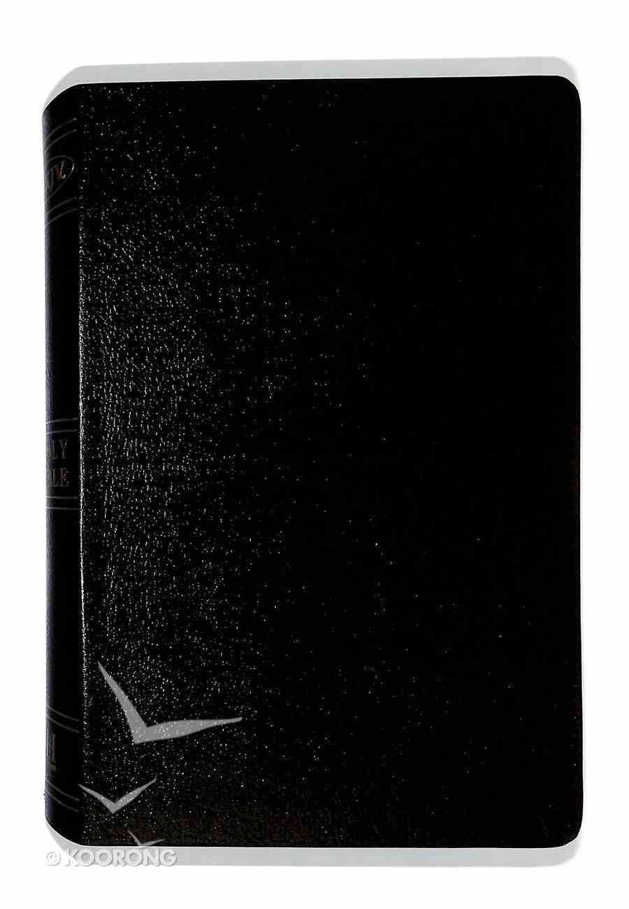 NKJV Large Print Personal Size Reference Bible, Black Bonded Leather Bonded Leather