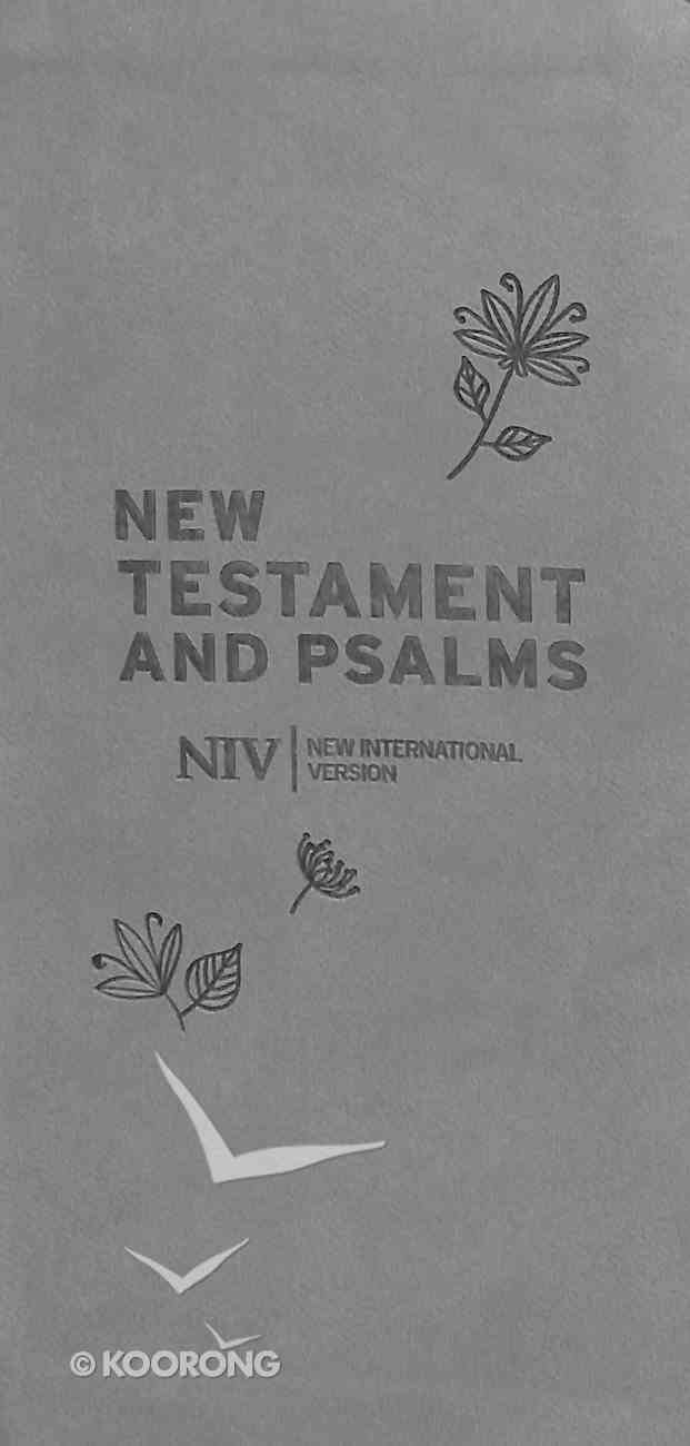 NIV Diary New Testament and Psalms Grey Flexi Back