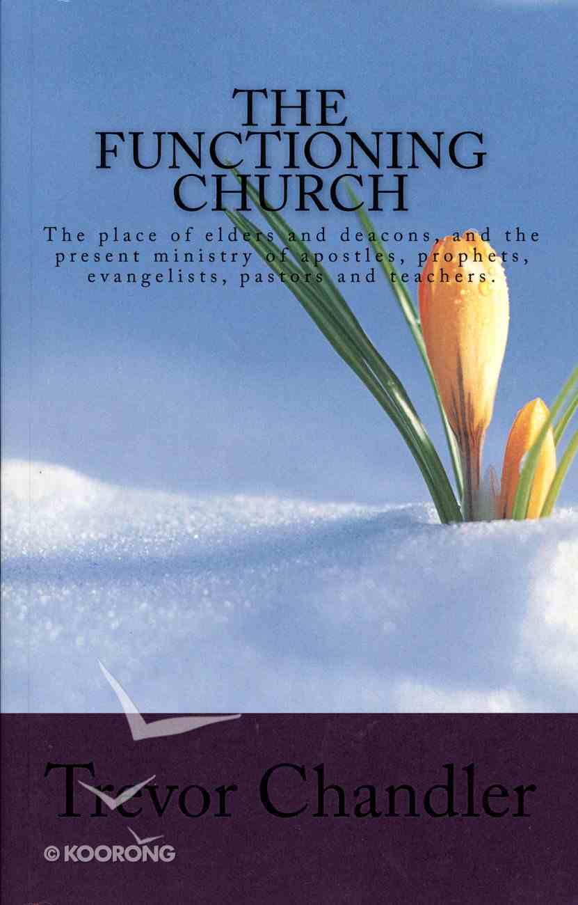 The Functioning Church Paperback