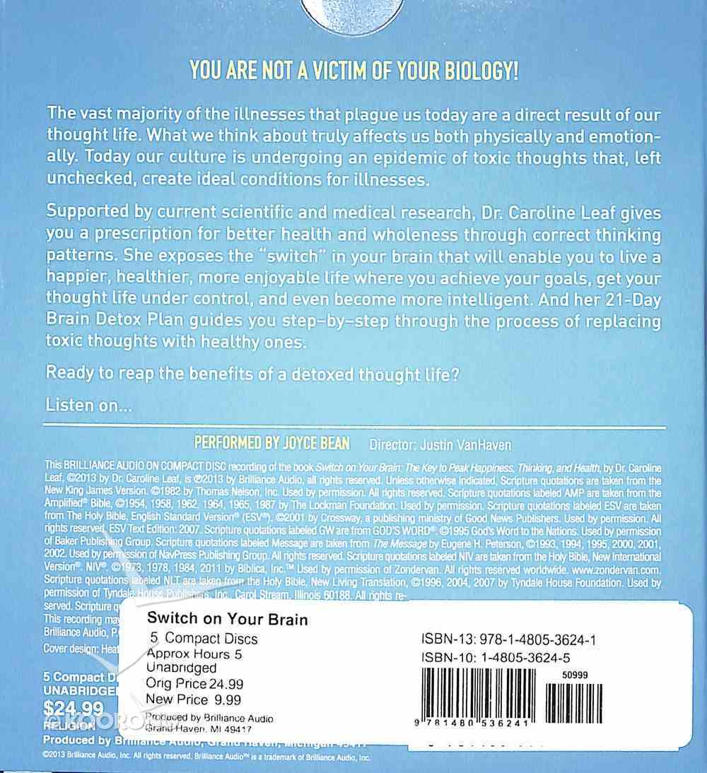 Switch on Your Brain (Unabridged, 5cds) CD