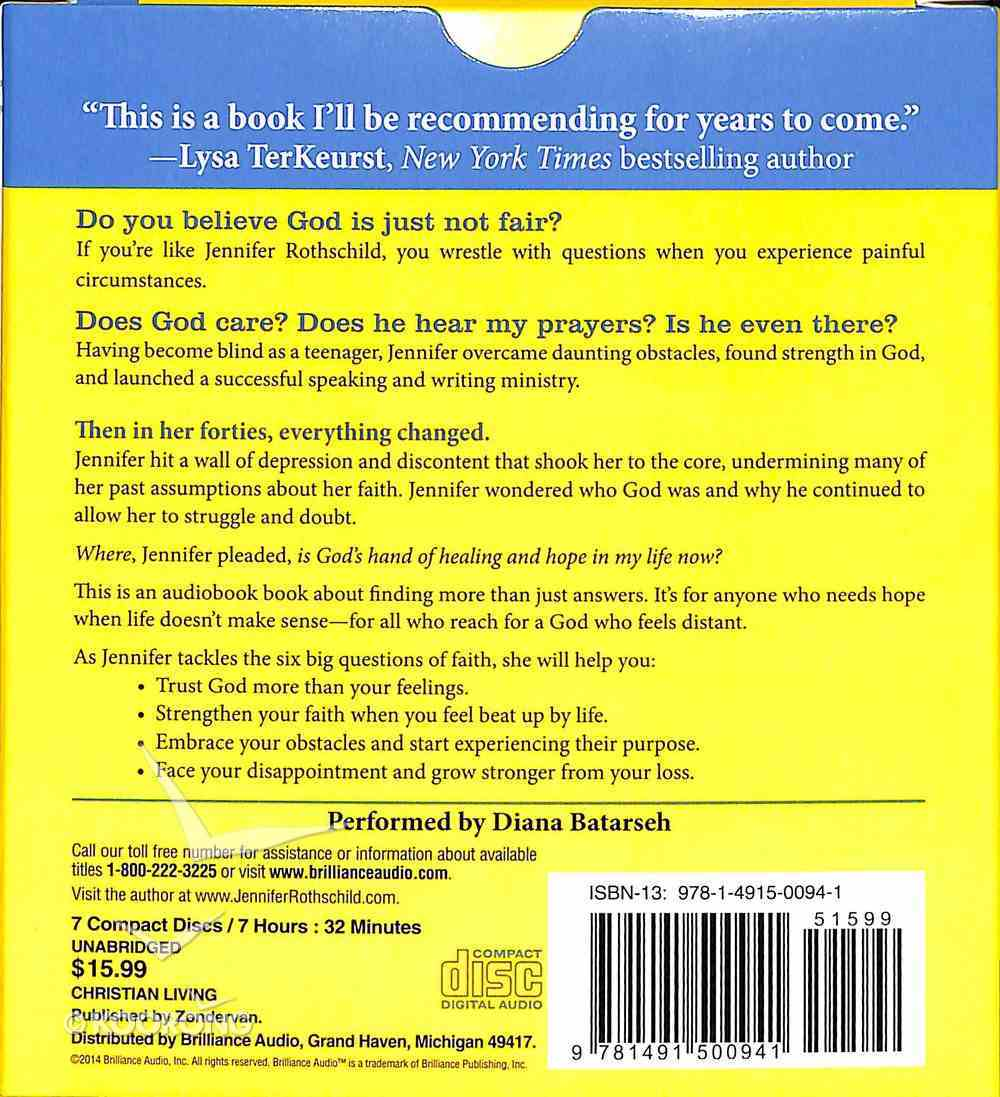 God is Just Not Fair (Unabridged 8 Cds) CD