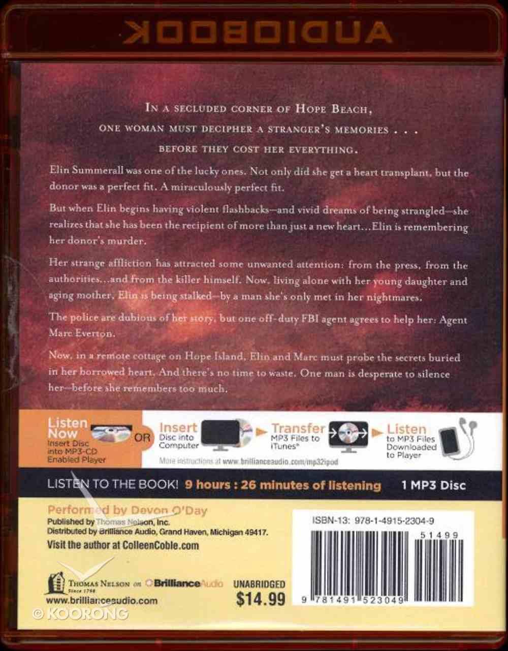 Seagrass Pier (Unabridged, MP3) (#03 in Hope Beach Audio Series) CD