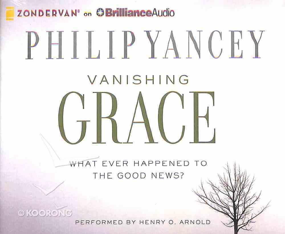 Vanishing Grace (Unabridged, 8 Cds) CD