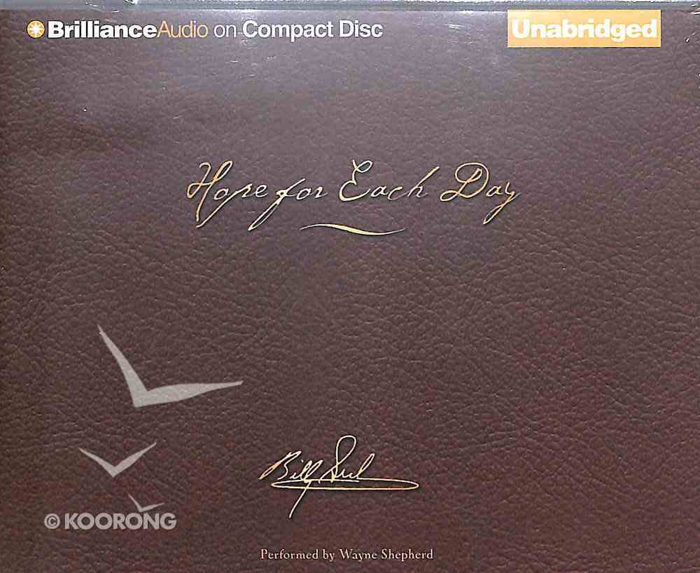 Hope For Each Day (Unabridged, 7 Cds) (Signature Edition) CD