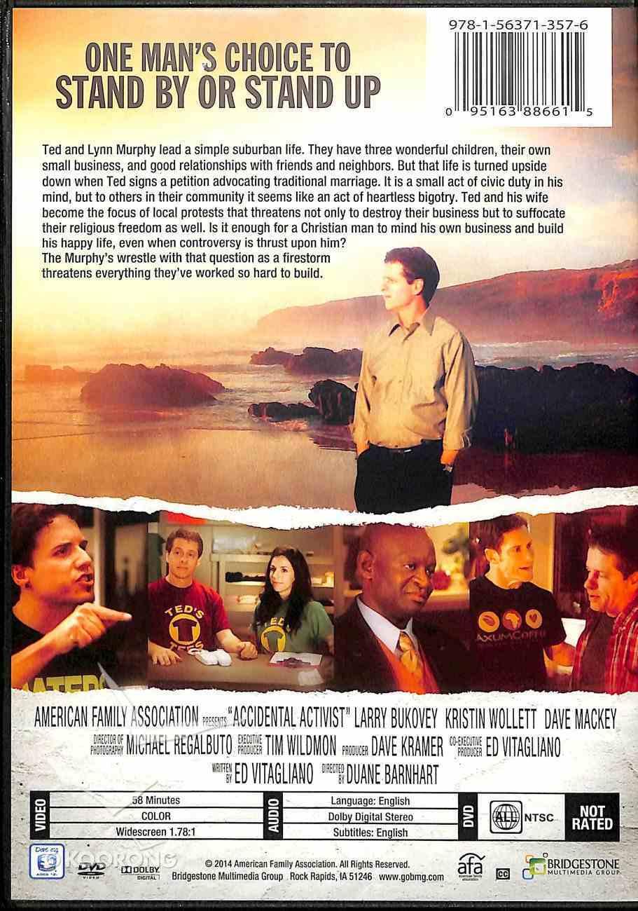 Accidental Activist DVD