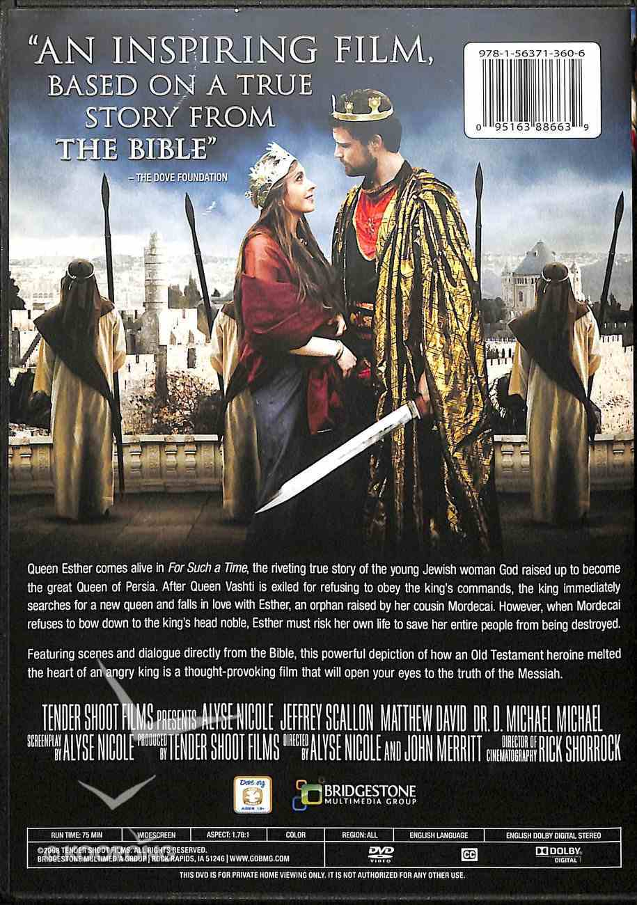 For Such a Time: A Story of Esther and Her King DVD
