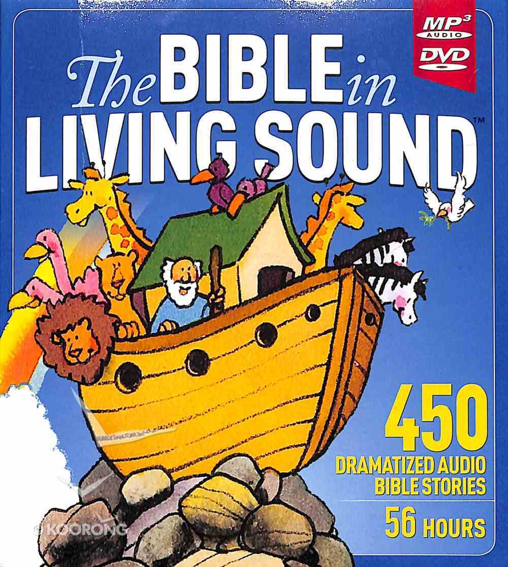 The Bible in Living Sound (Dramatized Mp3) CD