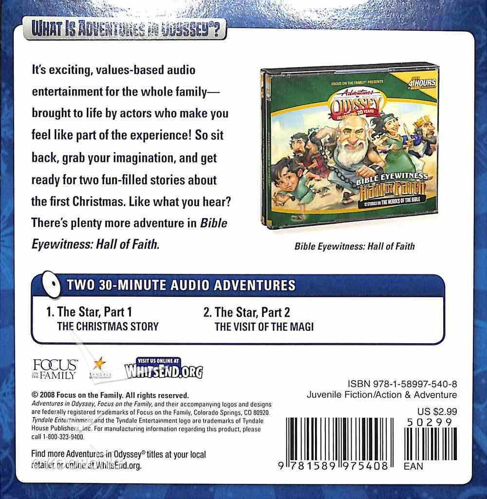 Bible Eyewitness Follow the Star (Adventures In Odyssey Audio Series) CD