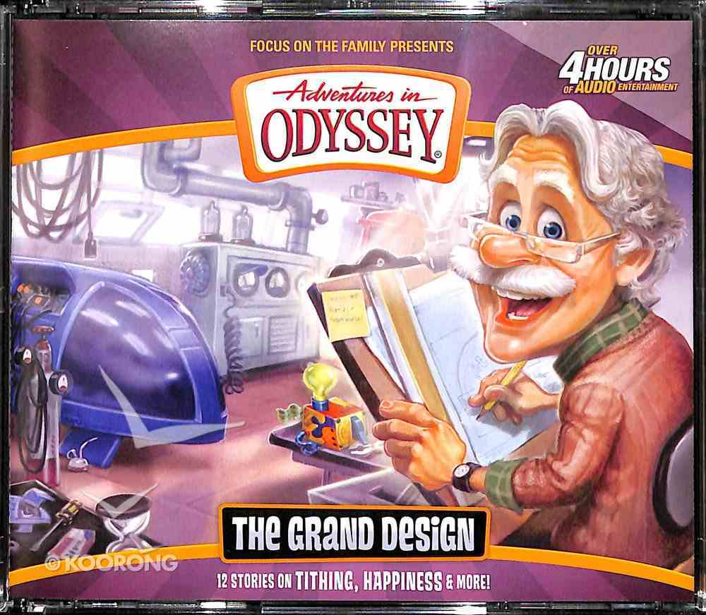 The Grand Design (#56 in Adventures In Odyssey Audio Series) CD