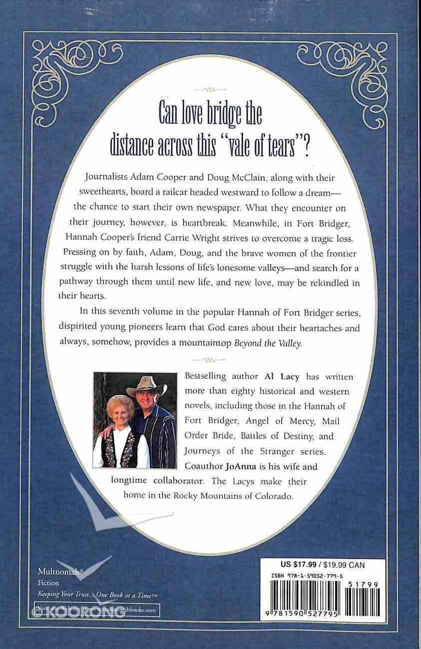 Beyond the Valley (#07 in Hannah Of Fort Bridger Series) Paperback