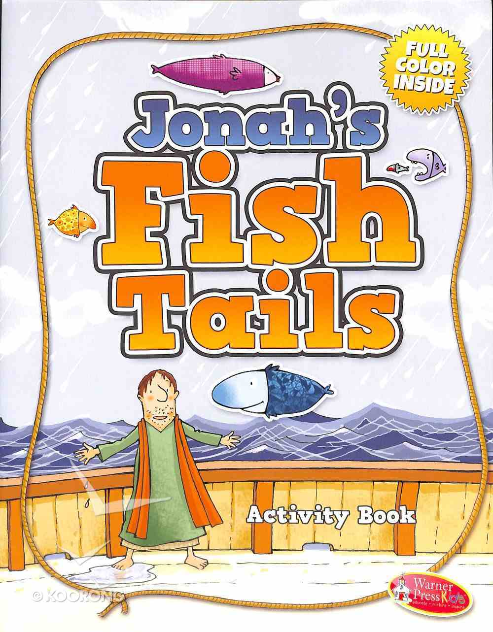 Activity Book: Jonah's Fish Tails Ages 4-7 Paperback