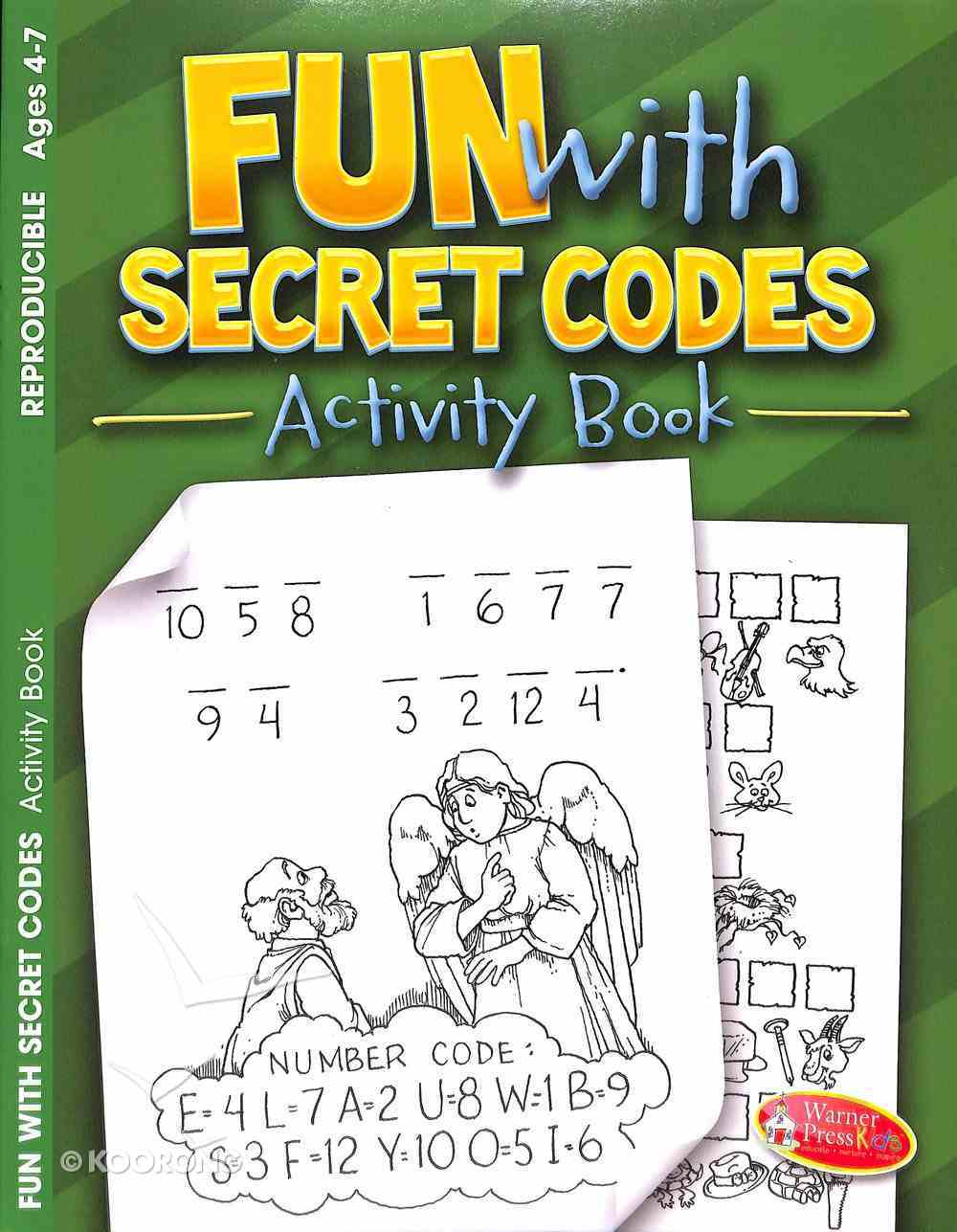 Fun With Secret Codes (Ages 4-7, Reproducible) (Warner Press Colouring & Activity Books Series) Paperback