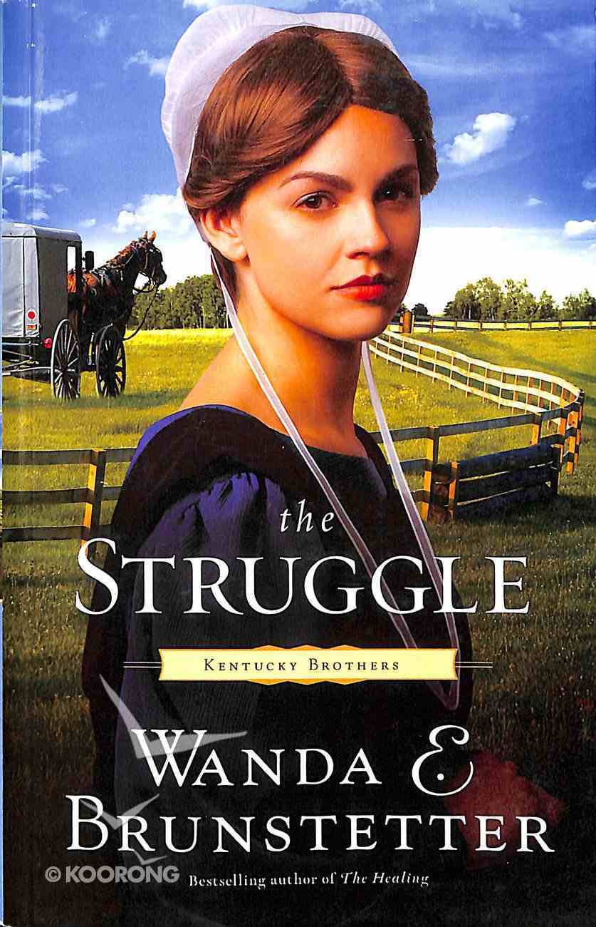 The Struggle (Large Print) (#03 in Kentucky Brothers Series) Paperback