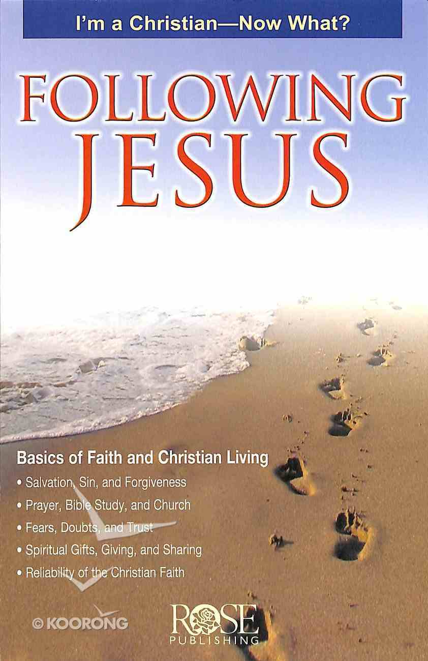 Following Jesus (Rose Guide Series) Pamphlet