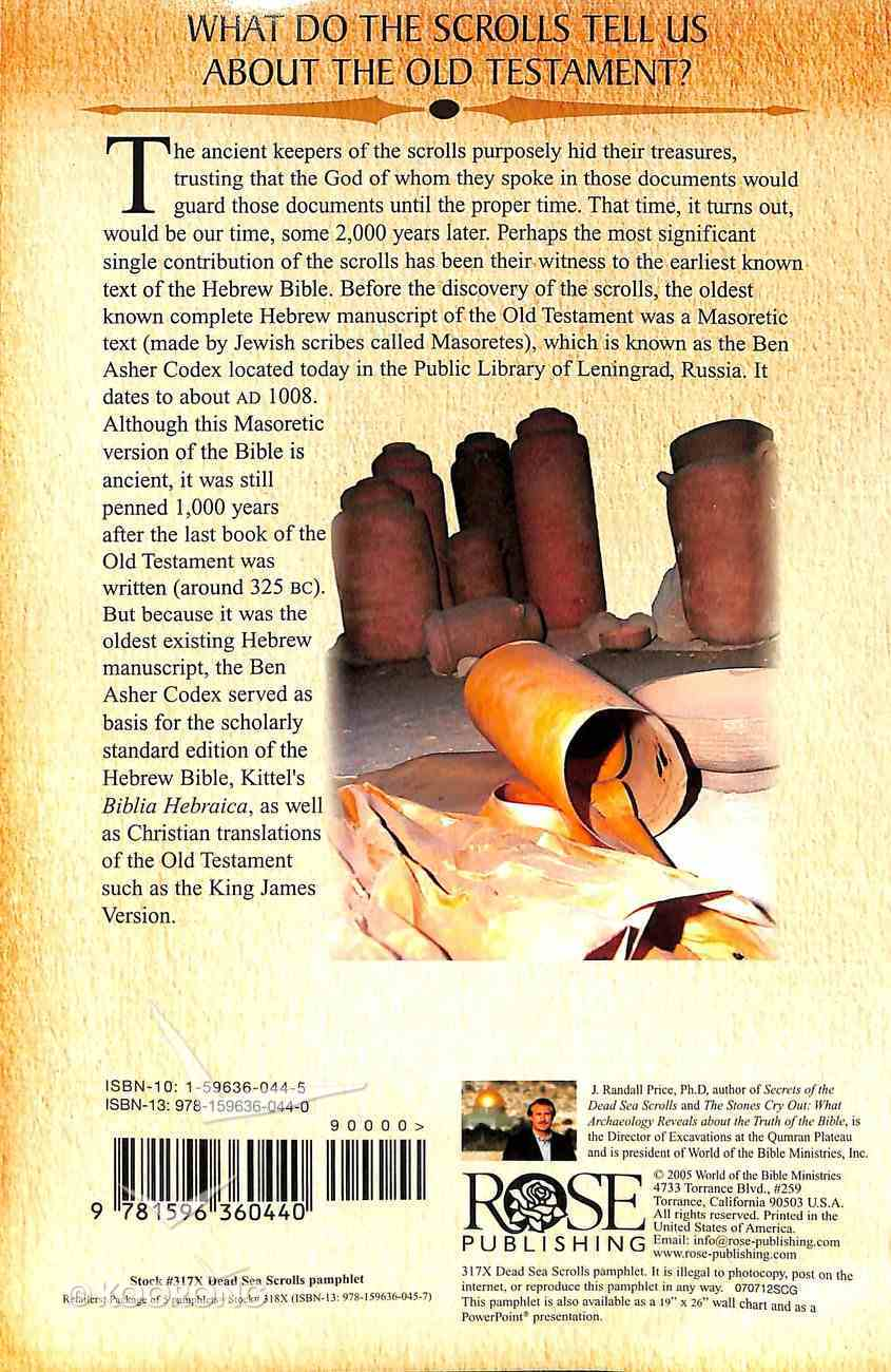 The Dead Sea Scrolls (Rose Guide Series) Pamphlet