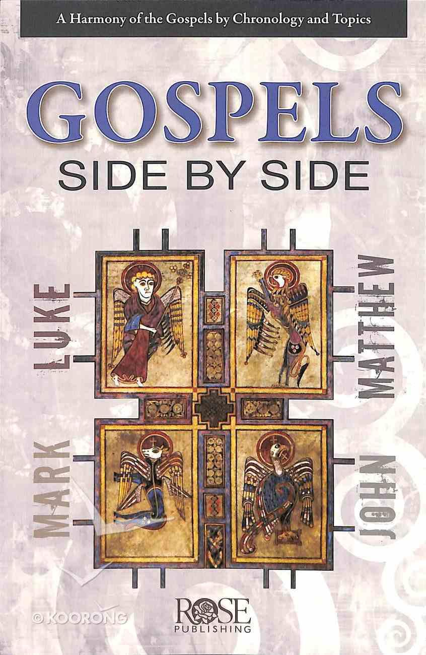 The Gospels Side-By-Side (Rose Guide Series) Pamphlet