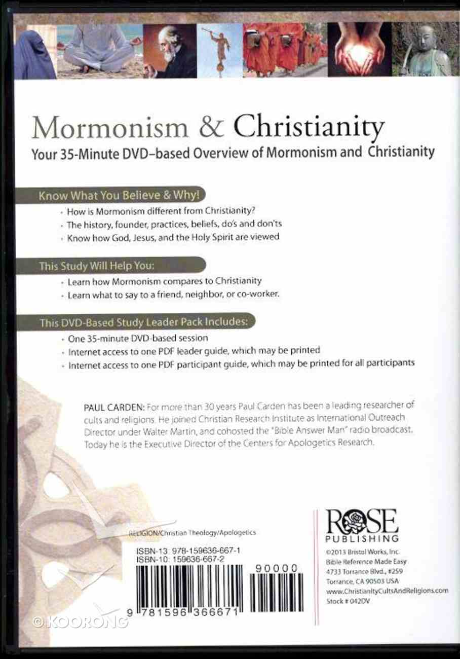 Mormonism & Christianity (Dvd Based Study) DVD