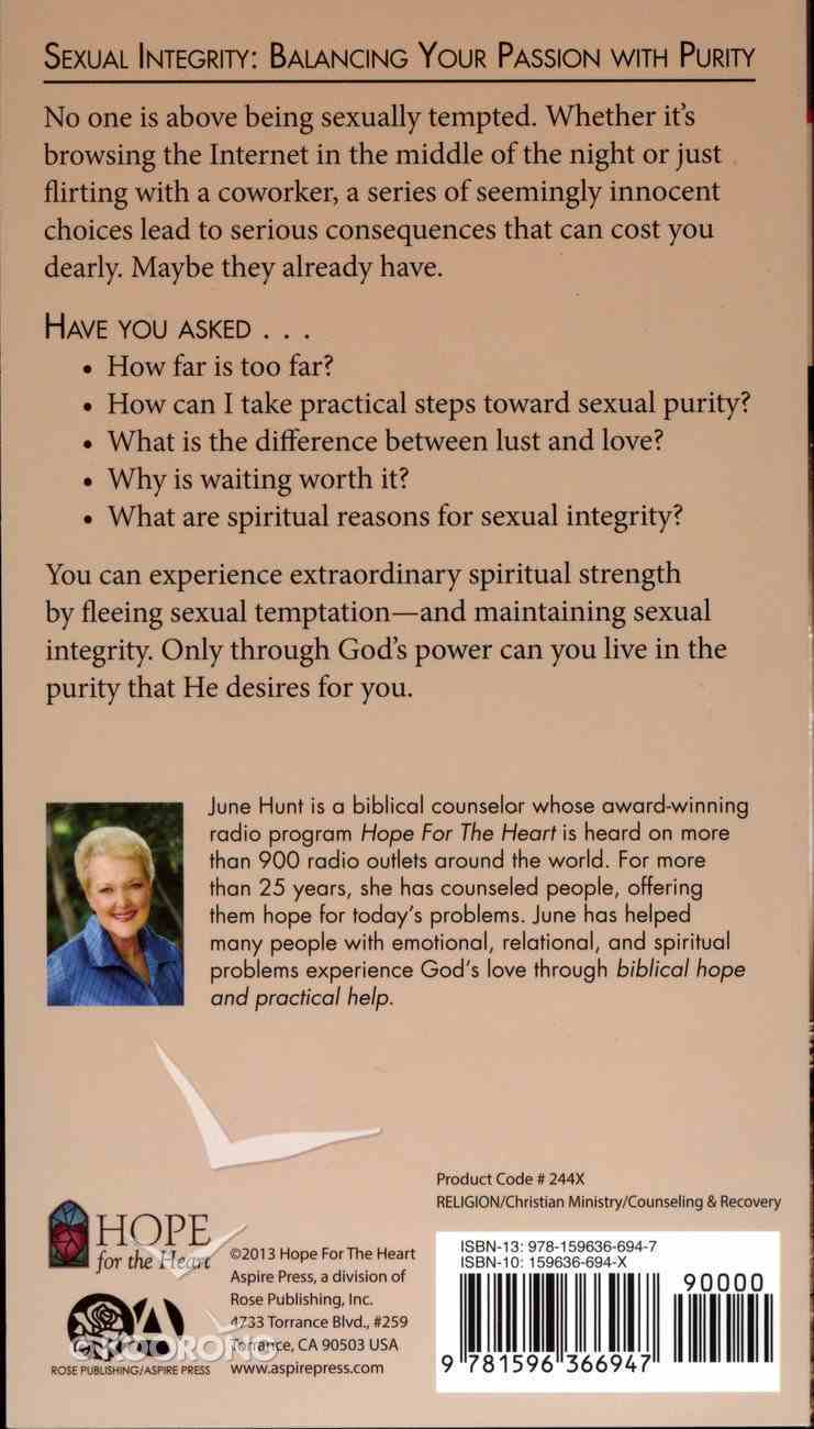 Sexual Integrity (Hope For The Heart Series) Paperback