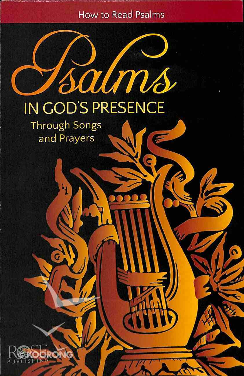 Psalms (Rose Guide Series) Pamphlet