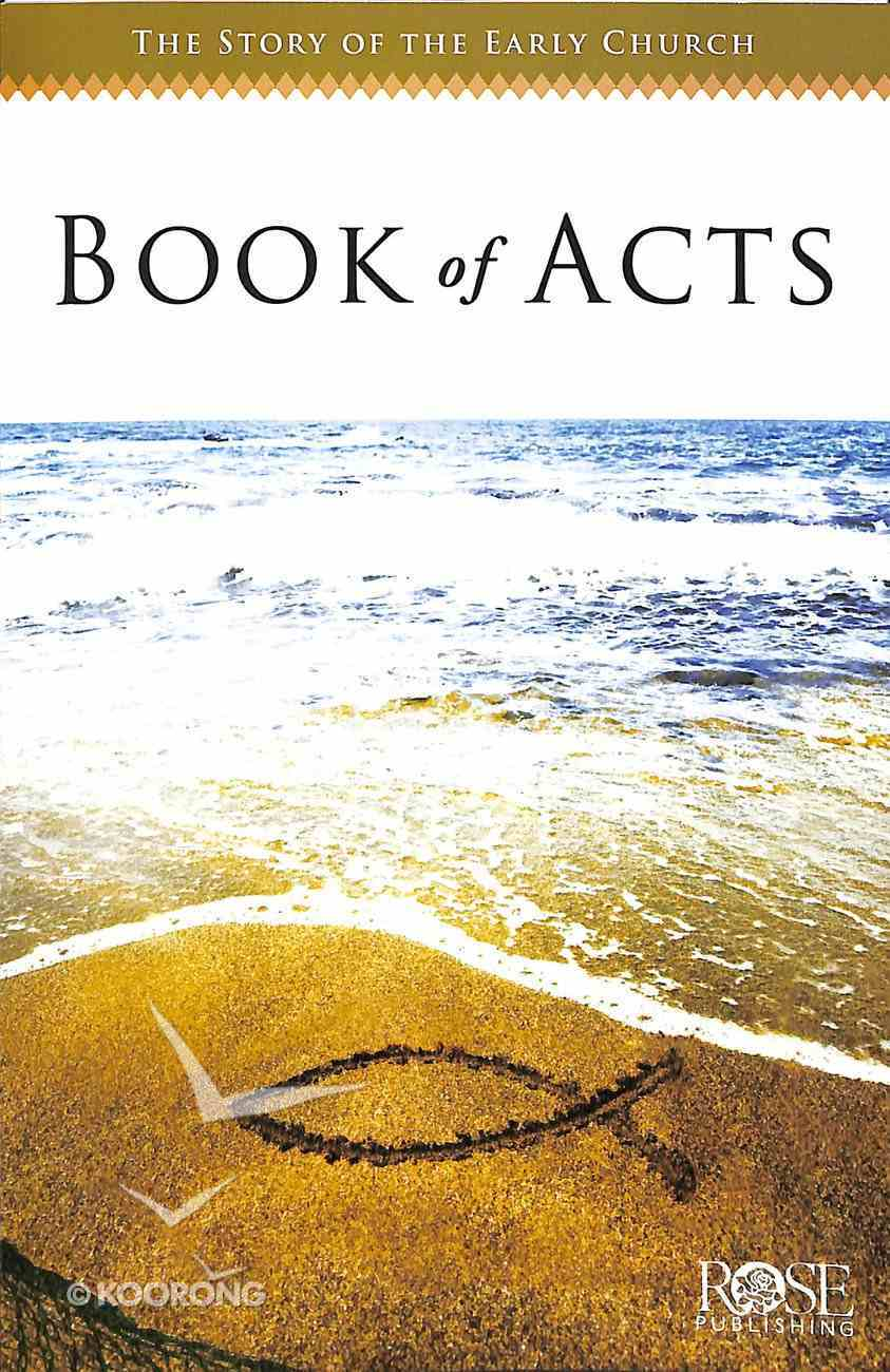 The Book of Acts (Rose Guide Series) Pamphlet