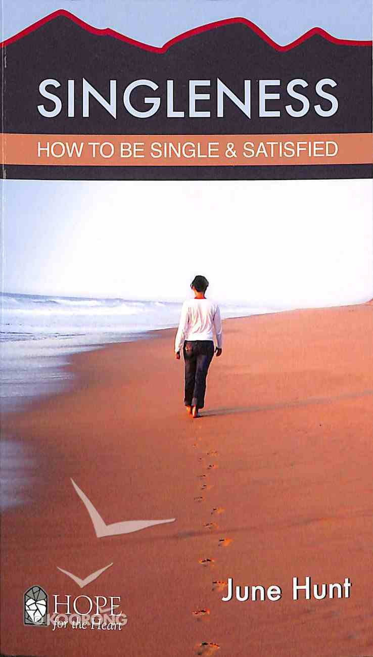 Singleness (Hope For The Heart Series) Booklet