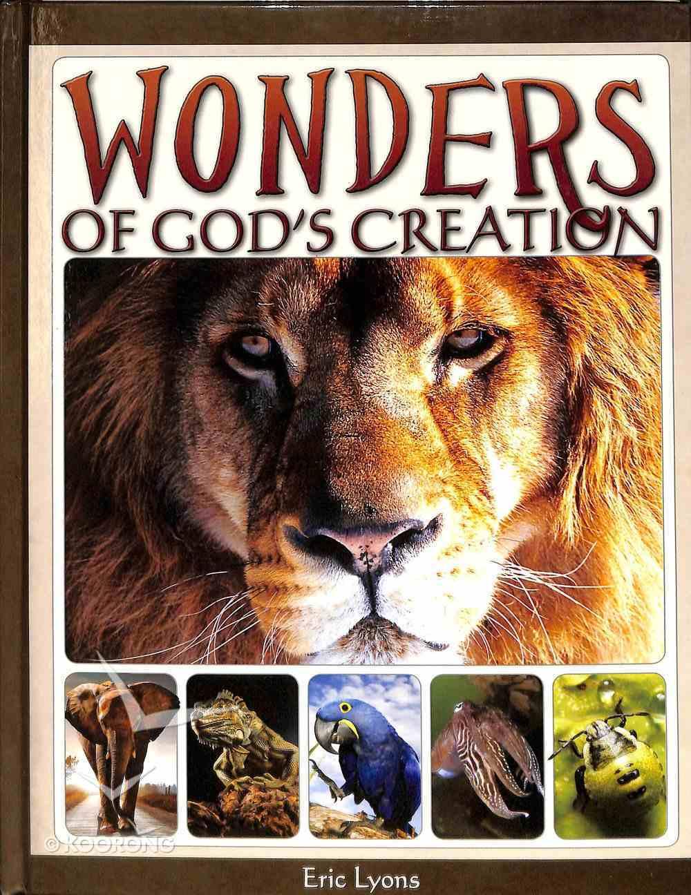 Wonders of God's Creation Hardback