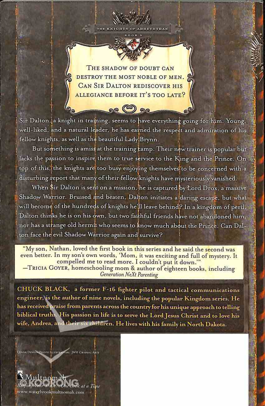 Sir Dalton and the Shadow Heart (#03 in The Knights Of Arrethtrae Series) Paperback