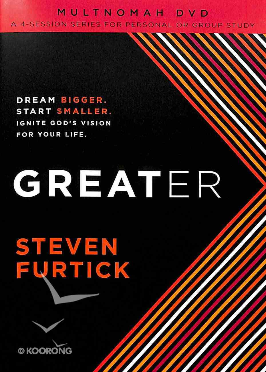 Greater (Dvd And Participants Guide) Pack