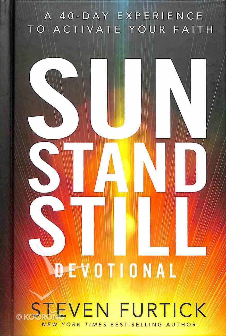 Sun Stand Still Devotional Hardback