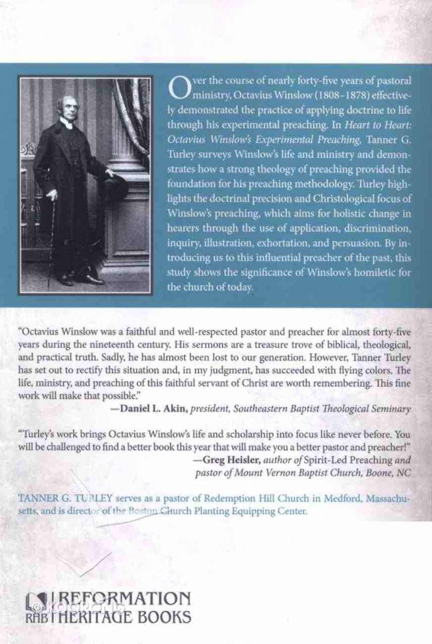 Heart to Heart: Octavius Winslow's Experimental Preaching Paperback