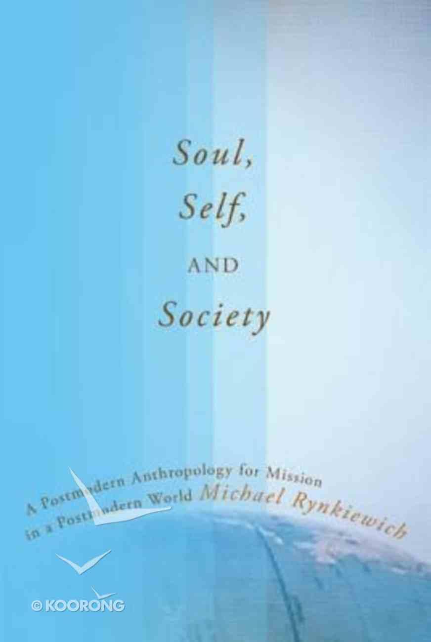 Soul, Self, and Society Hardback