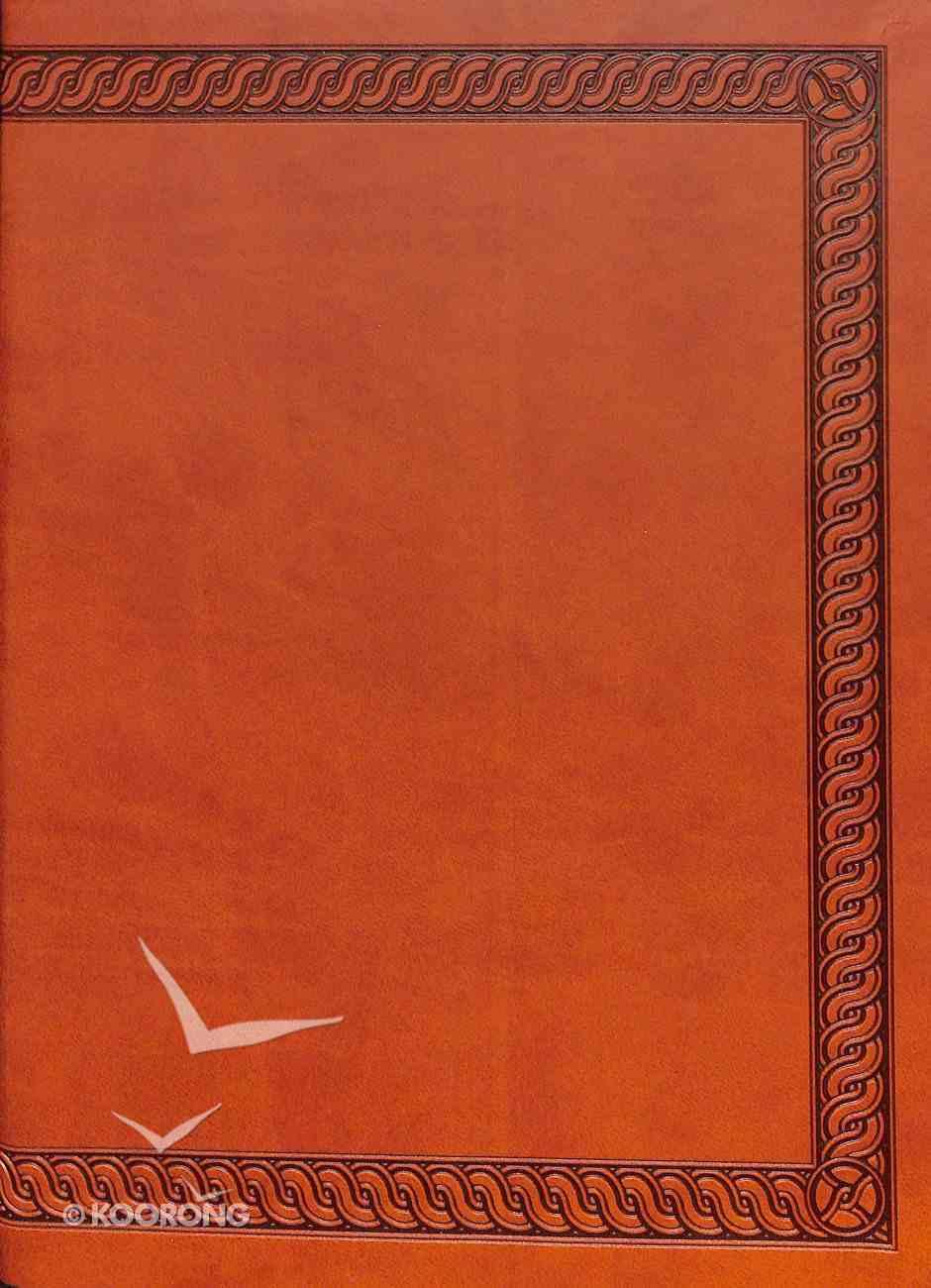 NKJV Jeremiah Study Bible, Brown Leatherluxe Premium Imitation Leather