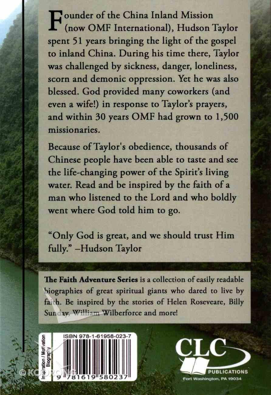 Hudson Taylor: Living Water Paperback