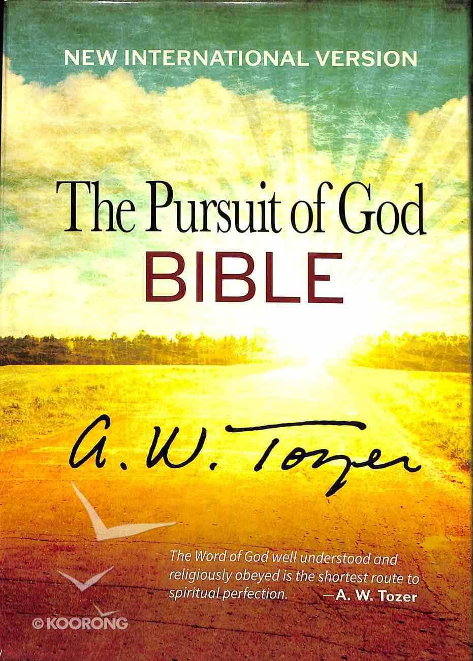 NIV Pursuit of God Bible, the Terra Cotta Flexi Back