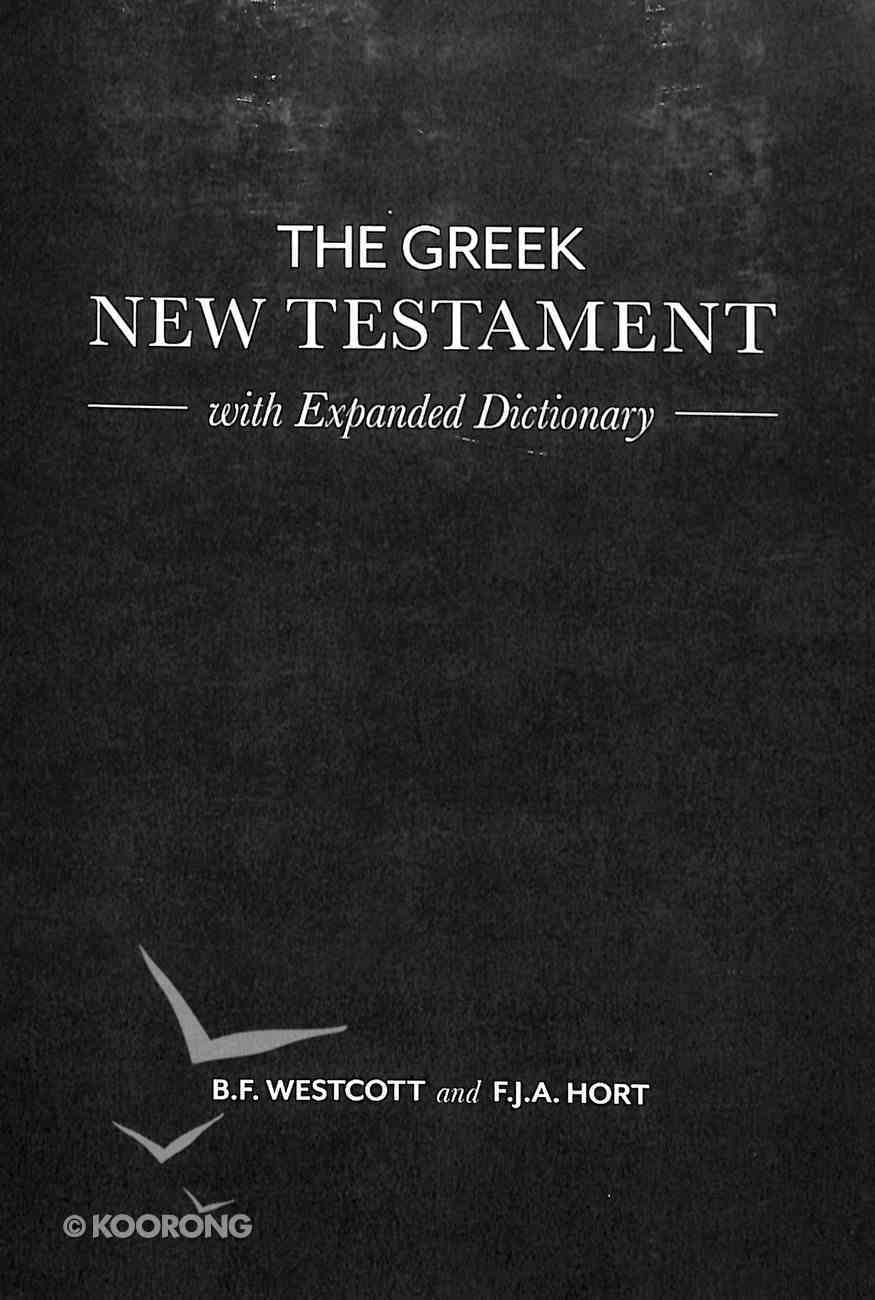 The Greek New Testament With Expanded Dictionary Paperback