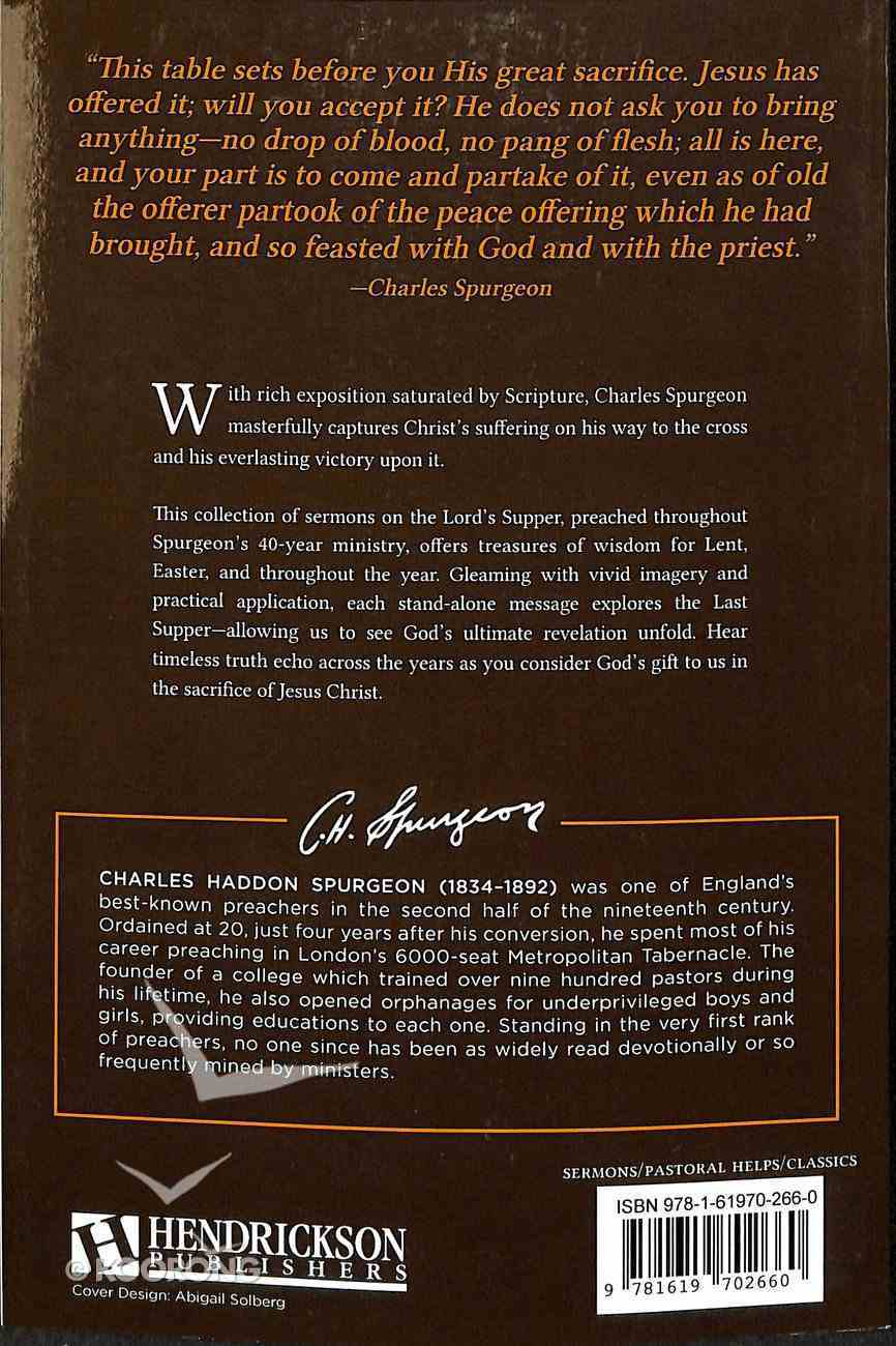 Sermons on the Lord's Supper Paperback