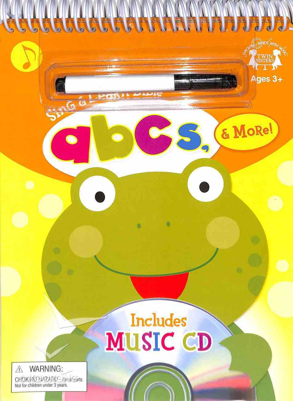 Sing and Learn: Bible Abc's & More (Incl Music Cd) Spiral