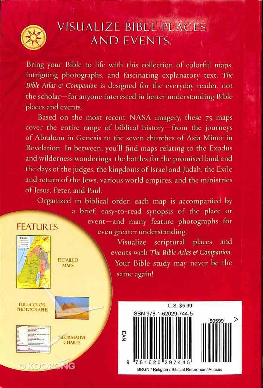 Pocket Bible Atlas & Companion Paperback