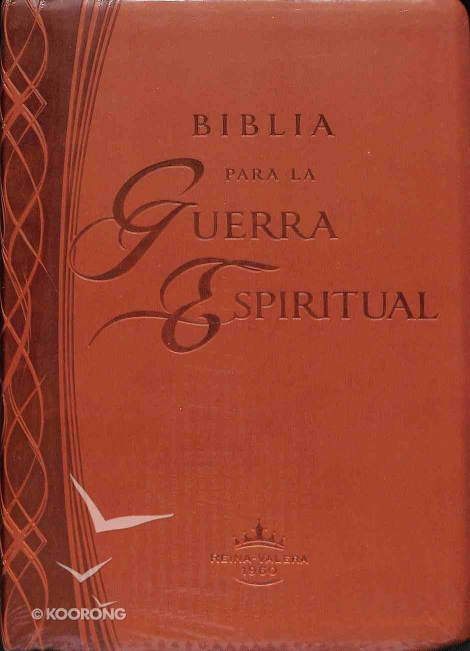 Rvr1960 Biblia Para La Guerra Espiritual (Spiritual Warfare Bible) Imitation Leather
